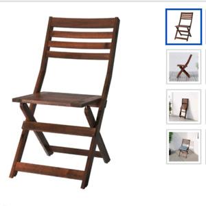 2 Ikea patio chairs