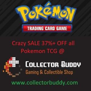 Crazy Pokemon TCG sale!!! 37%+ off all Pokemon TCG @ www.collectorbuddy.com - Booster Packs Tins Foil GX EX Mega Box