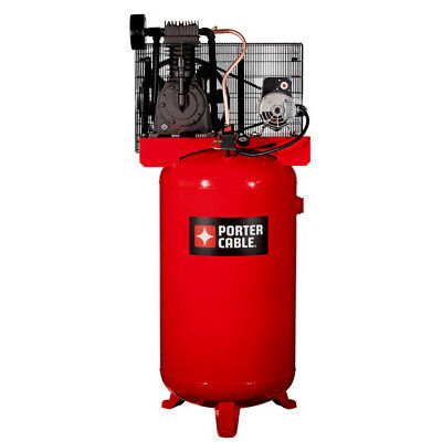 Porter-cable 5 Hp 80 Gal.tops Oil-lube Air Compressor Pxcmv5048055 New