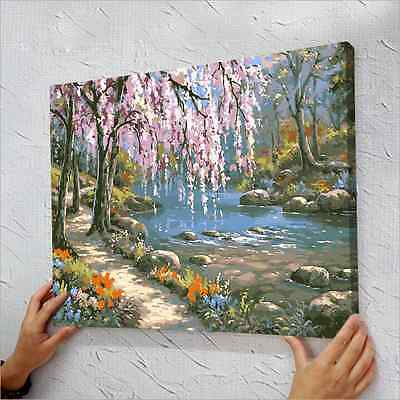 "16"" x 20"" DIY Paint By Number Kit Acrylic Painting On Canvas - Fairyland"