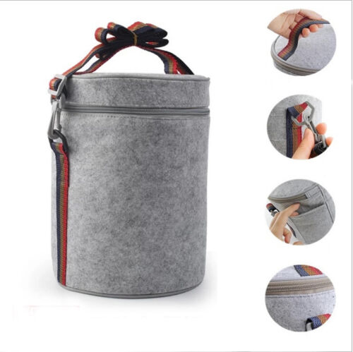 Insulated Lunch Box Small Thermal Bag Cooler Pouch Travel Pi