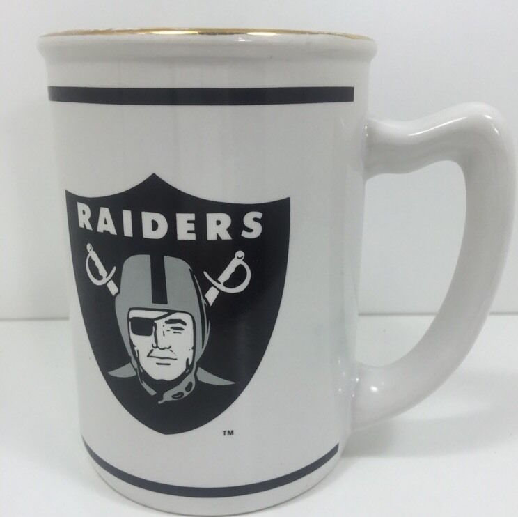 NFL Raiders Mug Officially Licensed Vintage Russ Cup