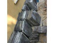 Large reclaimed roofing slates