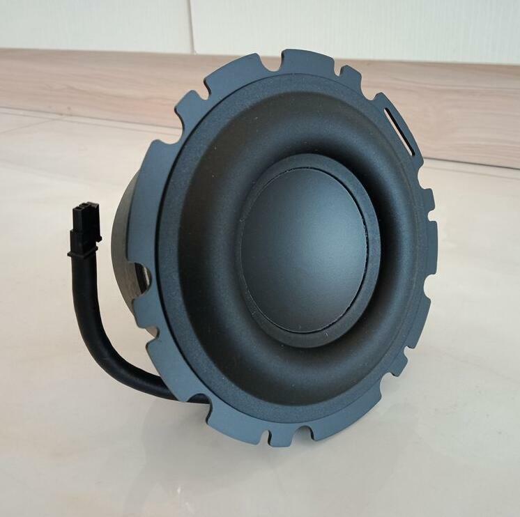 "1pcs 4.5""inch 123mm 4Ω 50W Long stroke Subwoofer mid-woofer speaker rubber edge"