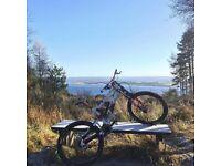 Saracen Myst downhill bike.