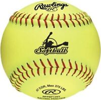 Rawlings RFBP12 Fastpitch Softball x 11 dozen