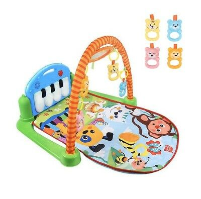 Baby Musical Activity Gym & Play Mat for Baby to Toddler