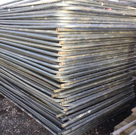 🔩 Temporary Used Heras Fence Panels