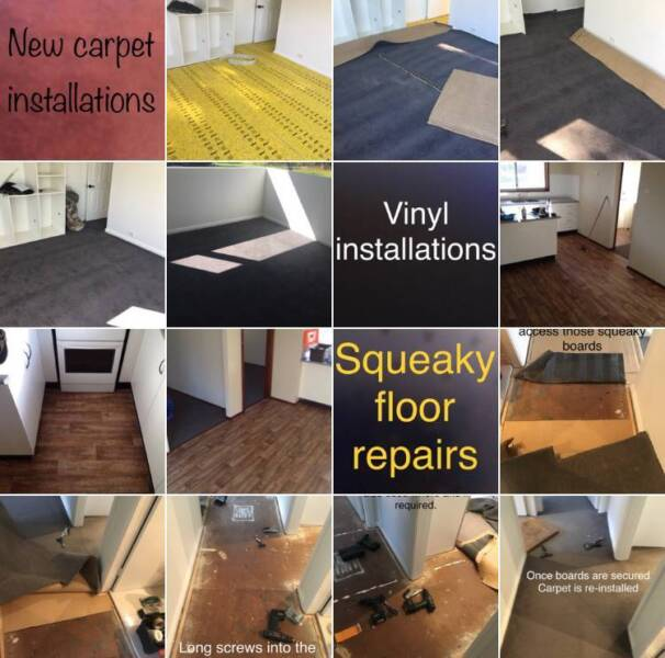 Floorfix Carpet Installations Repairs Squeaky Boards Vinyls