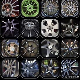 Alloy Wheel Refurbishment & Colour