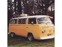 Volkswagen Camper 1973 bay window classic campervan QUICK SALE LOW PRICE (tax & MOT exempt)