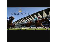 Royal ascot all day ticket Saturday 24th June 2017