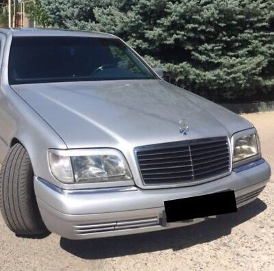 For Mercedes Benz W140 S Class 1990-1998 Headlight Eyelashes S320 S500 S600 for sale  USA