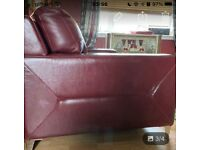 FREE 2-seater leather DFS sofa