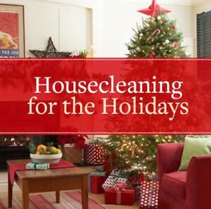 House Cleaning for the Holidays!