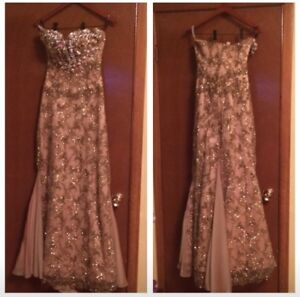 pageant prom dress