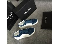 Selling Chanel trainers new with box and dustbag