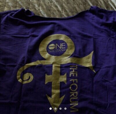 Prince 21 Night stand forum Tour Shirt