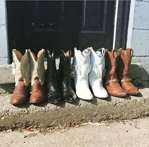 Vintage Western Cowboy Boot SALE!! 25% OFF!!