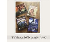 To show DVD bundle - some new