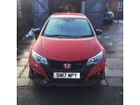 Honda Civic 2.0 vetch type r GT 5 Door VERY LOW MILES AS NEW