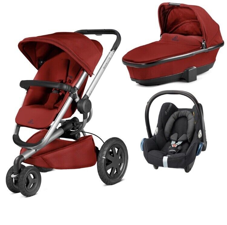 QUINNY Buzz 3 in 1 Pushchair, Car Seat and Carrycot | in ...