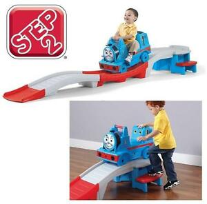 NEW STEP2 UP  DOWN ROLLER COASTER Thomas The Tank Engine Ride On Toy 112533972