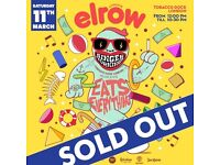 2 x Elrow tickets at Tobacco Docks Saturday 11th March