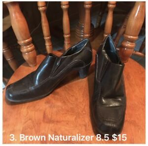 8.5 Brown Naturalizer boot