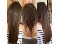 Mobile Hairdresser. 100% Human Remy Hair Extension from £155. Nano&Micro Rings, Keratin Bonds +