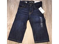 New with tags baby gap denim jeans 12-18m