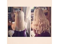 Hair extensions by Ash