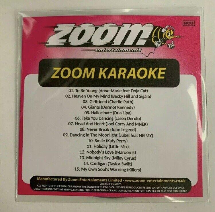 Zoom Karaoke 2020 Part 6