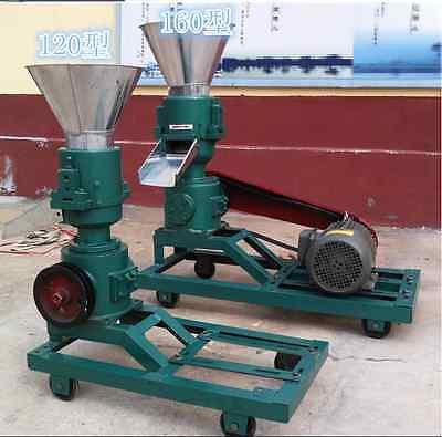 3kw 120 Model Pellet Mill Machine Feed Pellet Mill Machine With Motor E