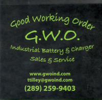 GWO for all your battery service needs!