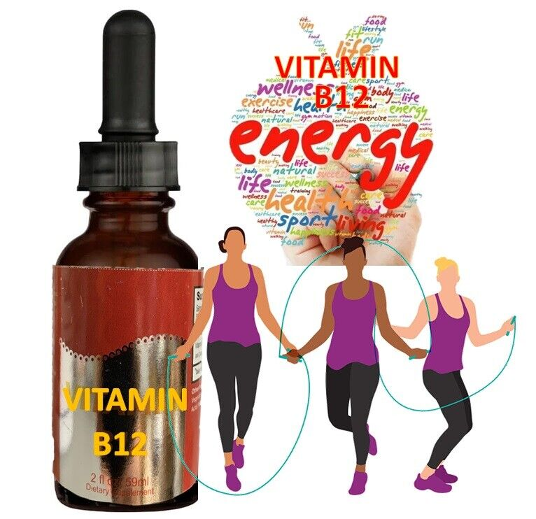 vitamin B-12 5000 mcg  Liquid Energy Health 2 oz  5000