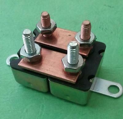 Vintage 100amp Master Circuit Breaker With Brackets