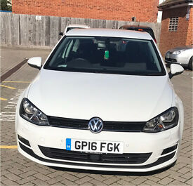 Volkswagen Golf Match Edition 1.4 TSI 2016 £16,500 ONO ONLY 9,320 miles!