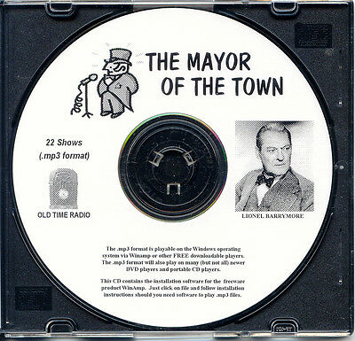 Mayor Of The Town - 22 Shows Old Time Radio In Mp3 Format Otr On 1 Cd