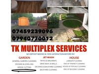 GARDEN DIGGING, HOUSE/GARDEN CLEARING, GRASS CUTTING , LAMINATE FLOORING AND LOT MORE