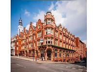 This Grade II Listed building boasts contemporary fully serviced offices on the first three floors.