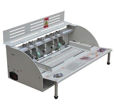 Electric Book Cover Creasing Machine Paper Dotted Line Cutting Machine 110220v
