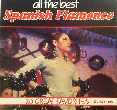 LN RARE! Various Artists All The Best Spanish Flamenco: 20 Great Favorites
