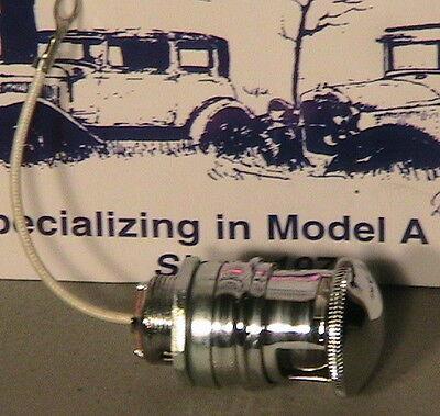1928 1929 1930 Model A Ford Ratrod Streetrod Orininal Style Dash Light w Bulb 6V