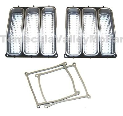 Parking Light Lenses & Gaskets for 1971-1972 Plymouth Duster