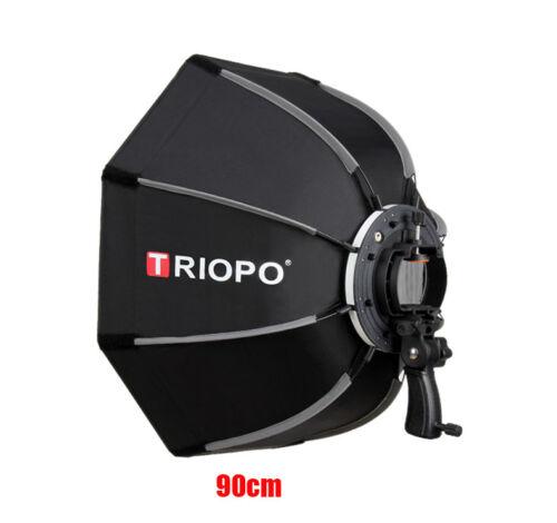 Triopo 90cm Octagonal Speedlite Softbox for Flash Godox Neewer Canon Speedlight