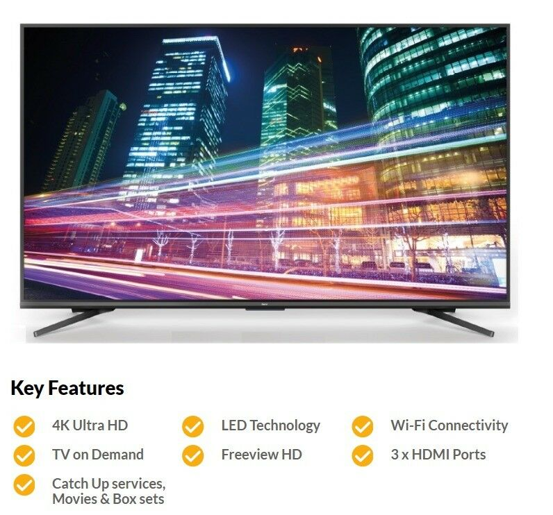 91a3d19cdc17 Baird 55 Inch 4K UHD HDR Smart Television (Brand new in box)   in ...