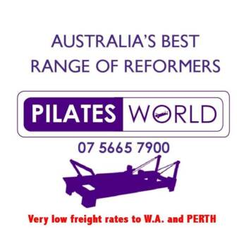 PILATES REFORMERS BY PILATES WORLD - LOWEST FREIGHT RATES TO WA Booragoon Melville Area Preview