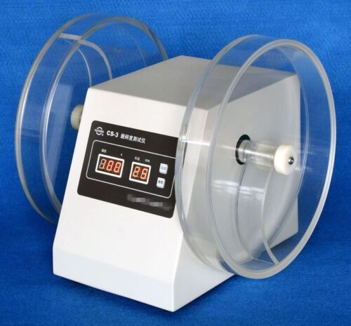 Brand New Tablet Friability Tester 25 RPM CS-3 with Two Cylinders T