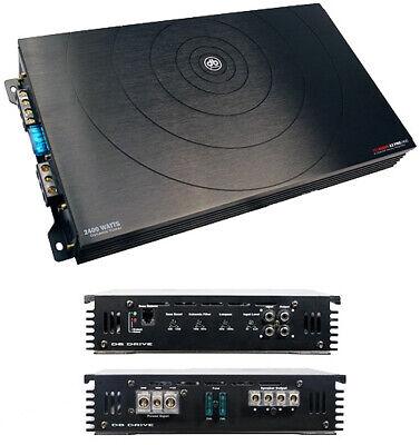 db Drive A3 PRO2400 2400 Watt 2/1 Channel Car Stereo Amplifier Speaker Sub Amp (Db Drive Subs)